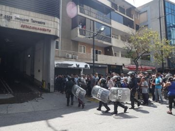 Policías del Estado de Miranda y de Chacao