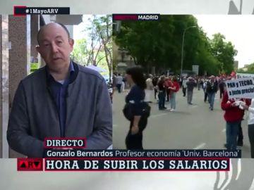 """Para subir los salarios Gonzalo Bernardos tiene una receta de mínimos que """"el PSOE tiene la obligación de cumplir"""""""
