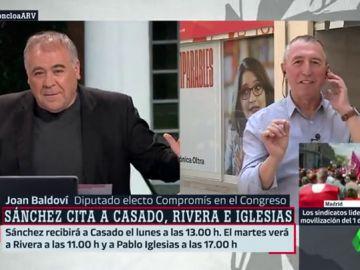 Joan Baldoví en Al Rojo Vivo