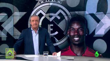 Pogba sólo quiere ir al Madrid