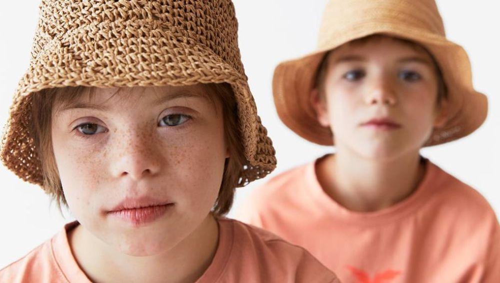 Los hijos de Samantha Vallejo-Nágera en la nueva campaña de Zara para niños.