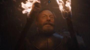 Imágen de Sir Davos en el capítulo tres de la octava temporada de 'Juego de Tronos'.