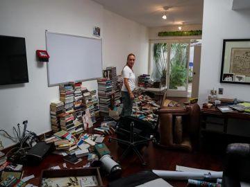 Asaltan la casa de Leopoldo López y Lilian Tintori