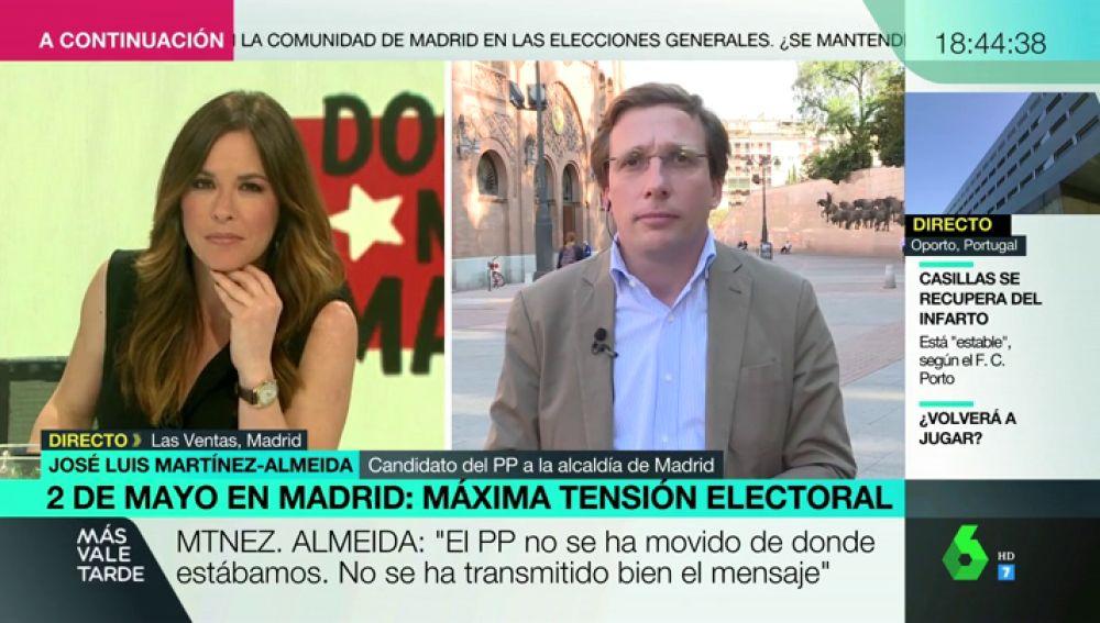 """Martínez-Almeida no descarta repetir el pacto 'a la andaluza': """"Tengo la obligación de buscar acuerdos dentro de la derecha"""""""