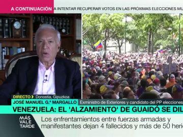 """García-Margallo: """"Quién está desobedeciendo y dando un golpe de Estado es Maduro y no Guaidó"""""""