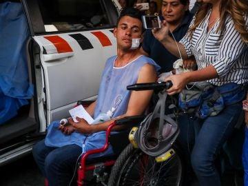 Un periodista herido durante las manifestaciones en Venezuela