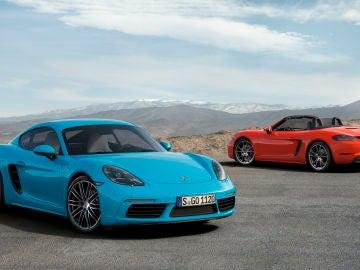 Porsche 718 Cayman y Boxster