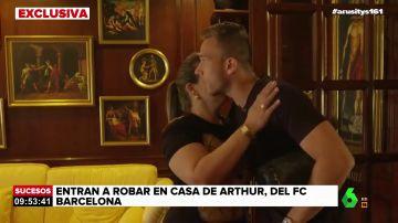Exclusiva laSexta: Roban la casa de Arthur y amenazan a su hermano con un destornillador en el cuello