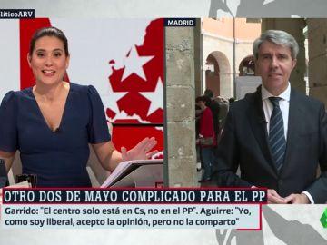 """Ángel Garrido, sobre el no saludo de Pablo Casado: """"Quizá no me haya visto"""""""