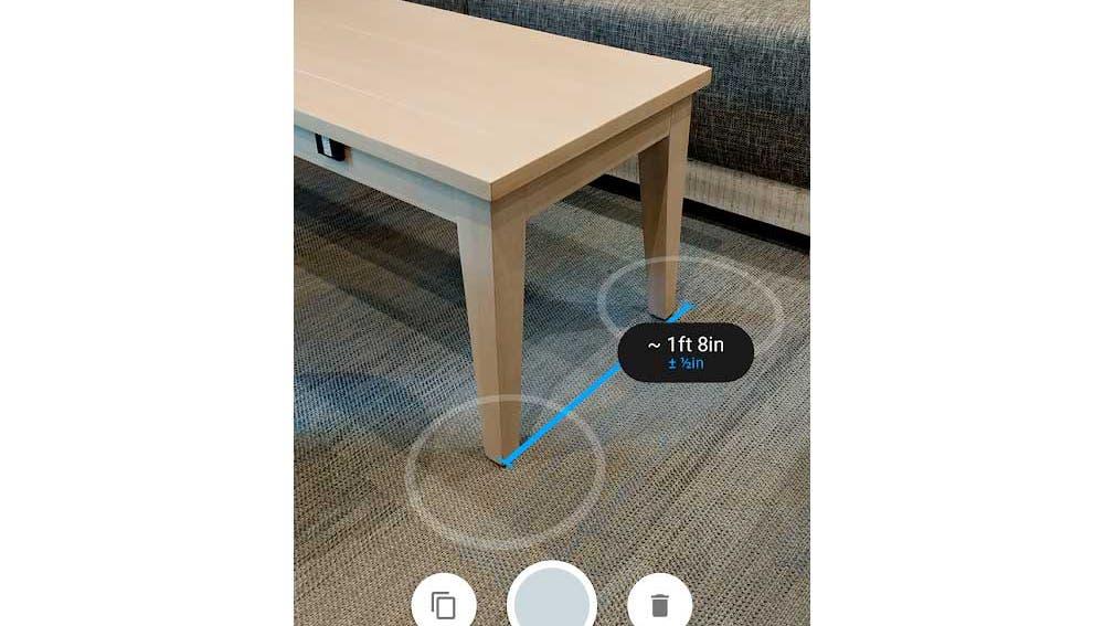 Podemos medir cualquier objeto con realidad aumentada