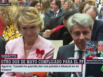 """Lluvia de halagos entre Aguirre y Garrido: """"Lo va a hacer fenomenal porque se ha hecho liberal"""""""