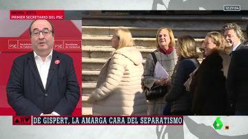 """Miquel Iceta defiende retirar la Creu de Sant Jordi a Núria de Gispert: """"Actúa como si fuera una hooligan"""""""