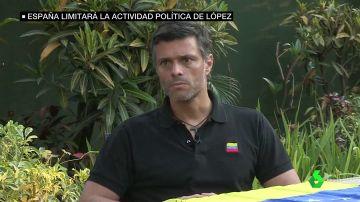 """Borrell asegura que Leopoldo López no convertirá su embajada en """"un centro de activismo político"""""""