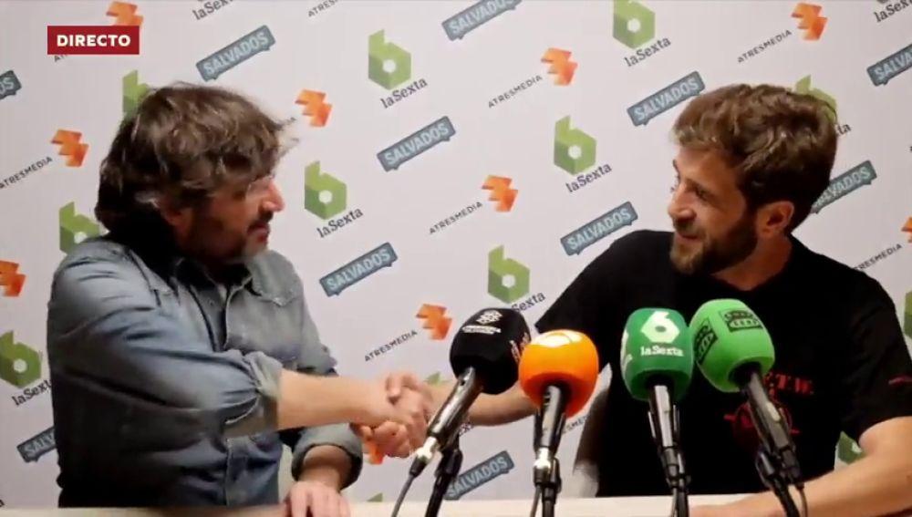 """Gonzo: """"Quería vestir la camiseta del Celta, pero me conformo con la de Salvados"""""""