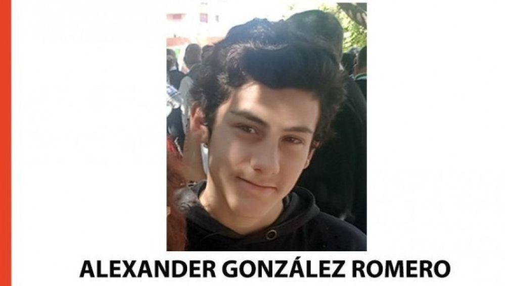 El menor de 14 años desaparecido
