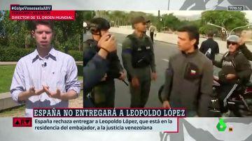Los motivos por los que la estancia de Leopoldo López como huésped en la embajada de España en Venezuela podría meter en un lío al Gobierno