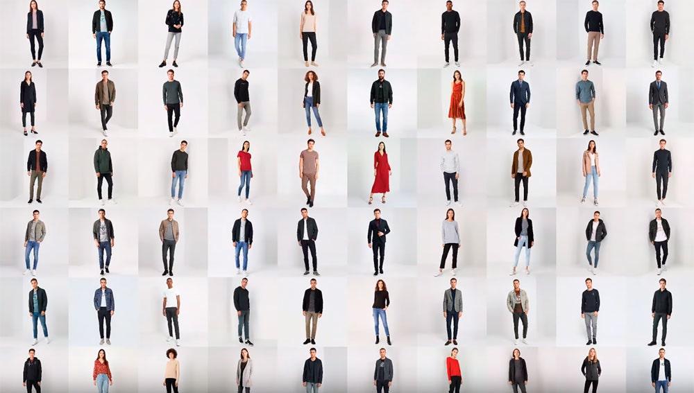 Decenas de personas creadas con Inteligencia artificial