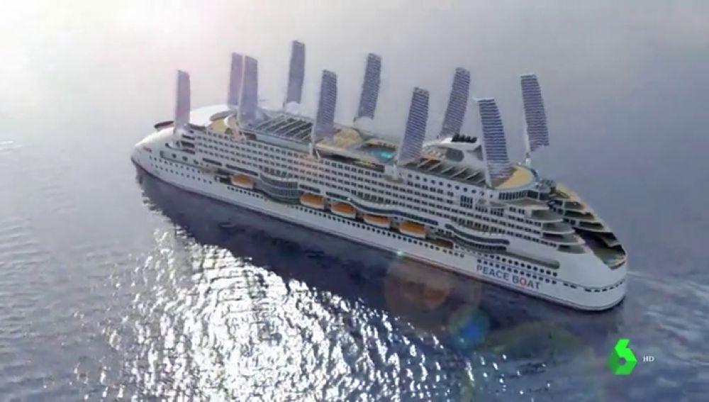 Así es el crucero menos contaminante del mundo diseñado por una empresa española