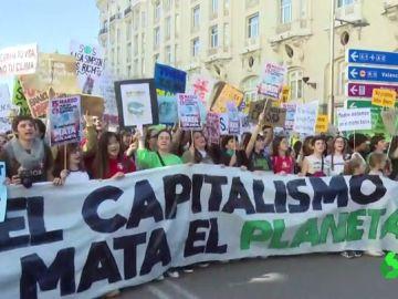 """Los jóvenes lideran la lucha contra el cambio climático: """"Sin planeta, no hay futuro"""""""
