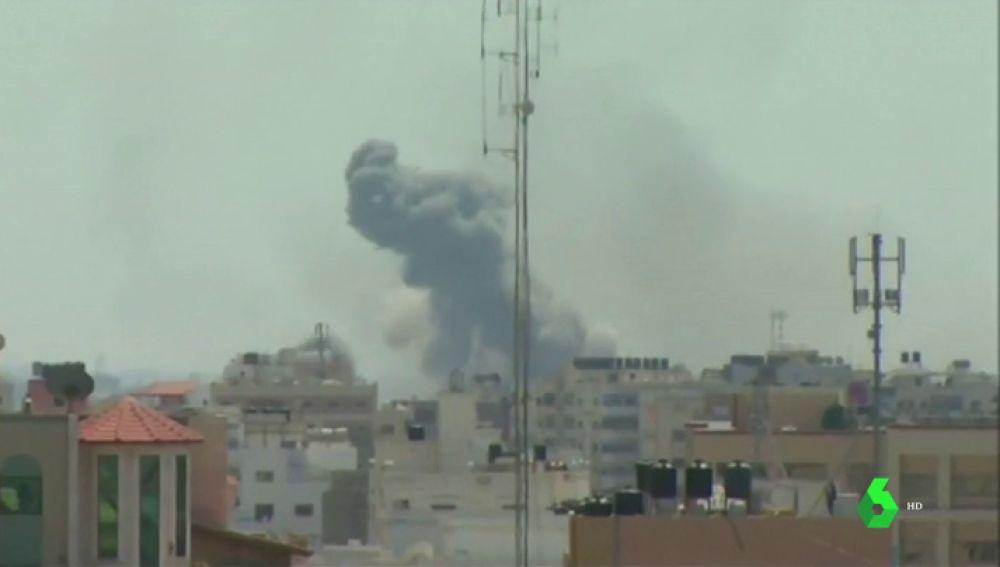 Dos palestinos muertos, entre ellos una bebé de solo un año, en una nueva escalada de violencia en Gaza