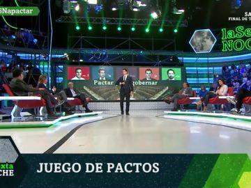 Debate entre PSOE, PP, Ciudadanos, Unidas Podemos, ERC y JxCat tras los resultados del 28A en laSexta Noche