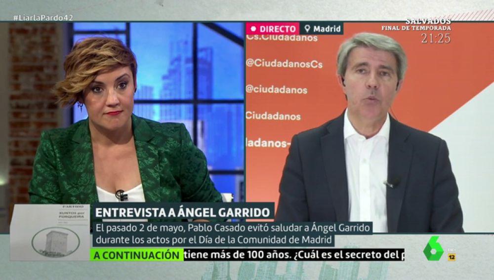 Ángel Garrido en Liarla Pardo
