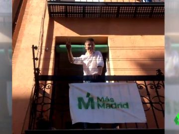 Más Madrid ya tiene donde colgar sus carteles electorales pese a la prohibición de la JEC: 4.000 madrileños le ceden sus balcones