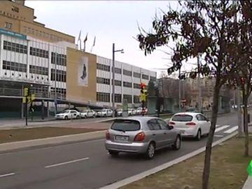 Imagen del la fachada del hospital donde el menor está ingresado