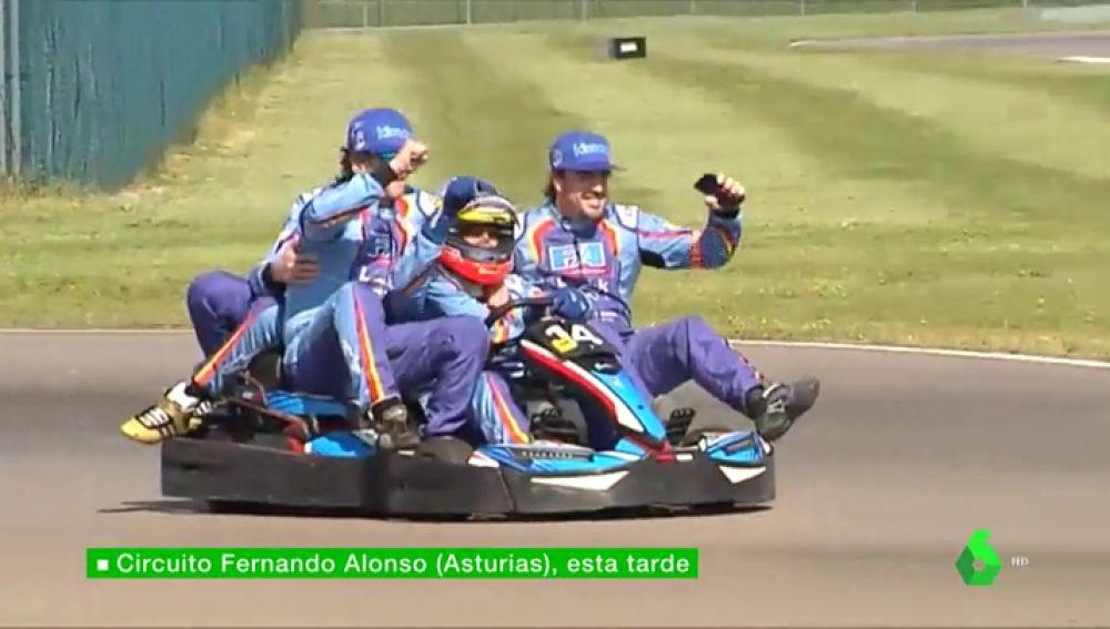Circuito Fernando Alonso Oviedo : Fernando alonso de spa a oviedo el asturiano también gana las