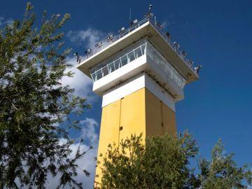 Vista parcial de la prisión provincial de Huelva
