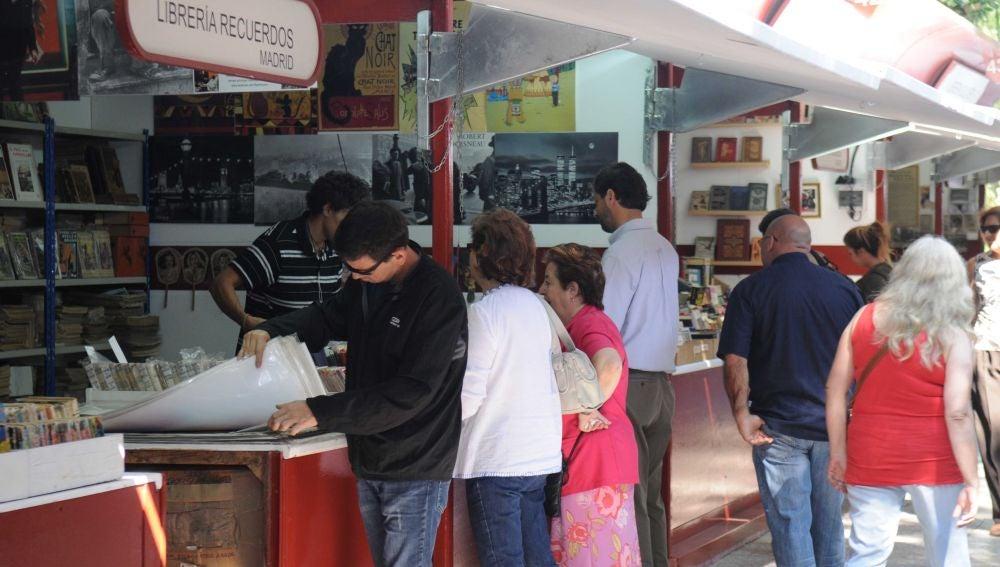 Feria del Libro Antiguo y de Ocasión de Madrid