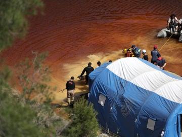 Operaciones de rescate de las víctimas del asesino en serie de Chipre