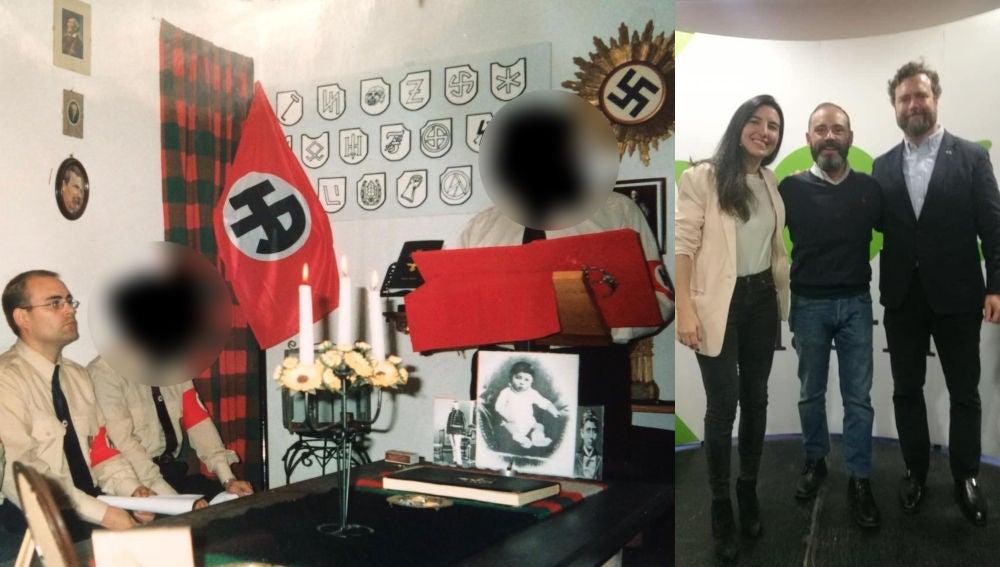 Un candidato de Vox en Alcalá de Henares participó en aquelarres nazis
