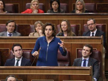 La cabeza de lista del PP al Parlamento Europeo, Dolors Montserrat.