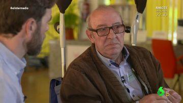 """Tomás Fernández, un anciano que podría ser desahuciado: """"No puedes decir a una persona que va a ganar en calidad de vida y jugar con ella"""""""