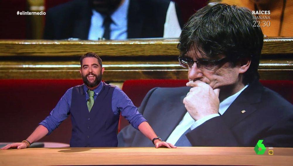 """Dani Mateo desvela el verdadero motivo por el que Puigdemont fue """"vetado"""" en Canadá"""