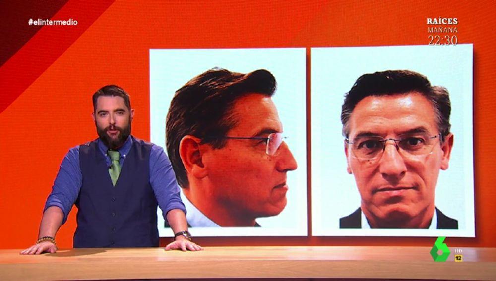 Dani Mateo descubre al candidato de Ciudadanos que quiere convencer a sus votantes por la forma de su cráneo y su cara