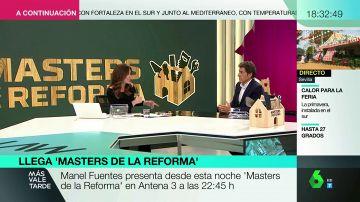 """Manel Fuentes, sobre 'Masters de la Reforma': """"Demuestra que cuando trabajas en equipo las cosas pueden mejorar mucho"""""""