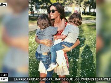Sara Carbonero celebra el Día de la Madre con sus hijos