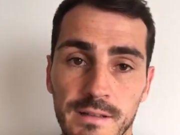 Iker Casillas manda un mensaje a sus seguidores