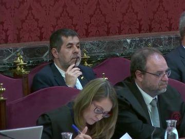 """Un mosso en el juicio del 'procés': """"Jordi Sànchez fue prepotente. Me dijo que sacase a la 'BRIMO' o llamaba al president"""""""