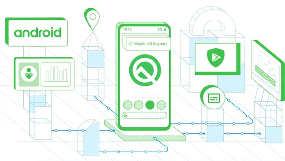 Android Q Google I/O