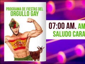 """Zapeando descubre el """"programa de festejos"""" de Vox en Madrid: """"Los actos empezarán al amanecer y de cara al sol"""""""