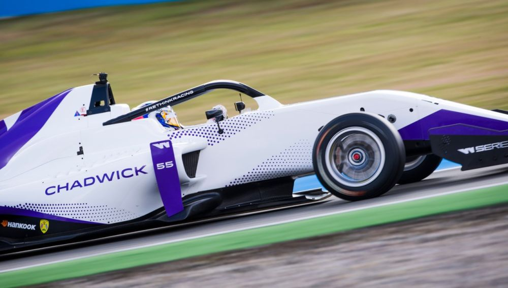 Jamie Chadwick W Series Hockenheim 2019