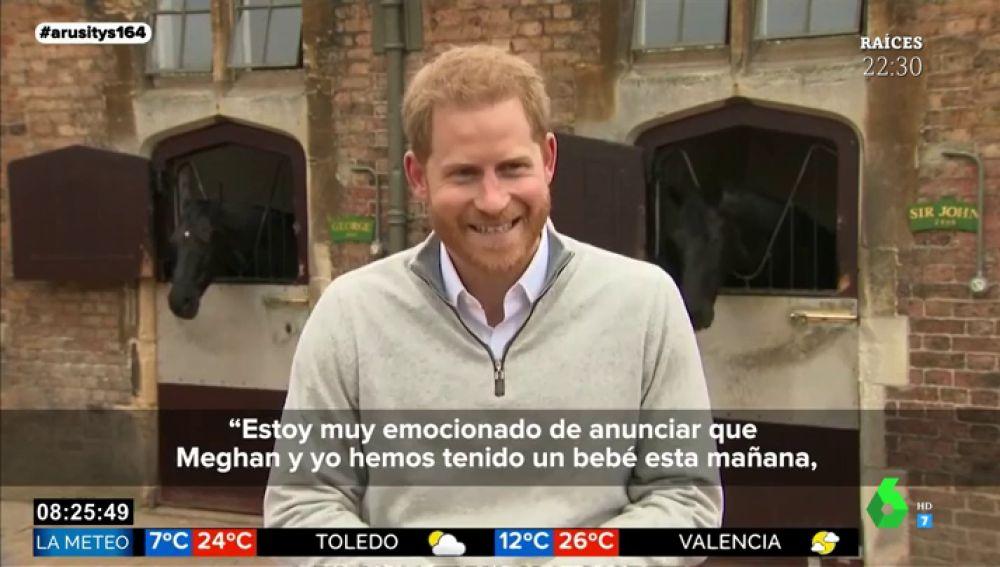 """Las bonitas palabras del príncipe Harry hacia Meghan Markle tras dar a la luz a su hijo: """"Estoy muy orgulloso de ella"""""""