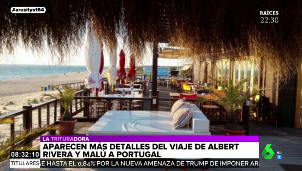 ¿Viajaron Albert Rivera y Malú en una caravana para evitar a los paparazzi? Así fue su romántica escapada a Portugal