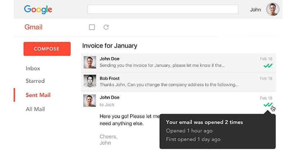 Doble Check Gmail