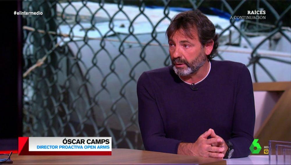 """El llamamiento de Óscar Camps, director del Open Arms: """"La situación es crítica, hay niños expuestos a enfermedades e infecciones"""""""