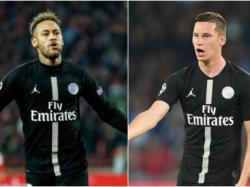 Neymar y Draxler