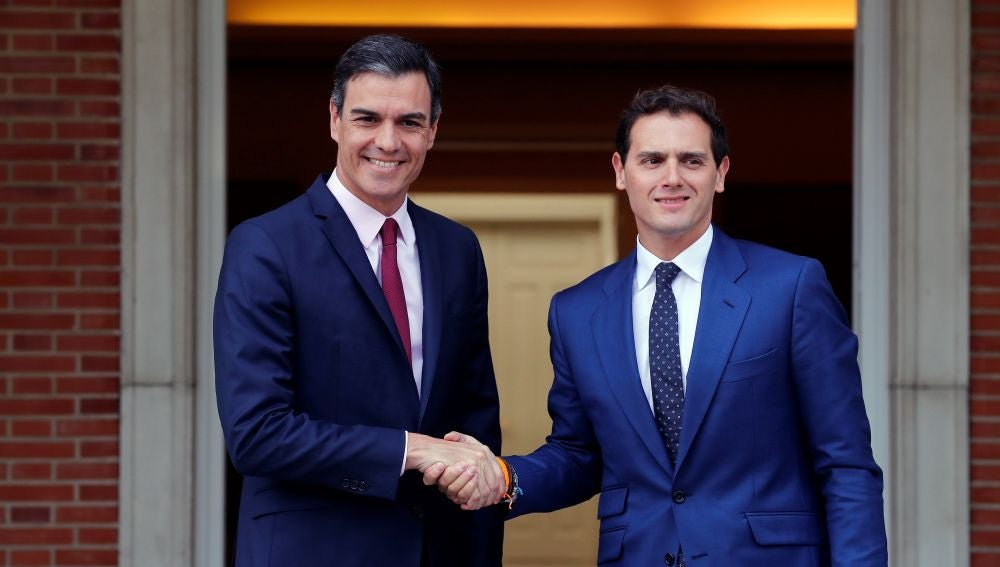 Sánchez y Rivera en La Moncloa